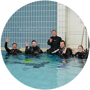 Assistent Instructor, Open Water Scuba Instructor Schwimmbadausbildung