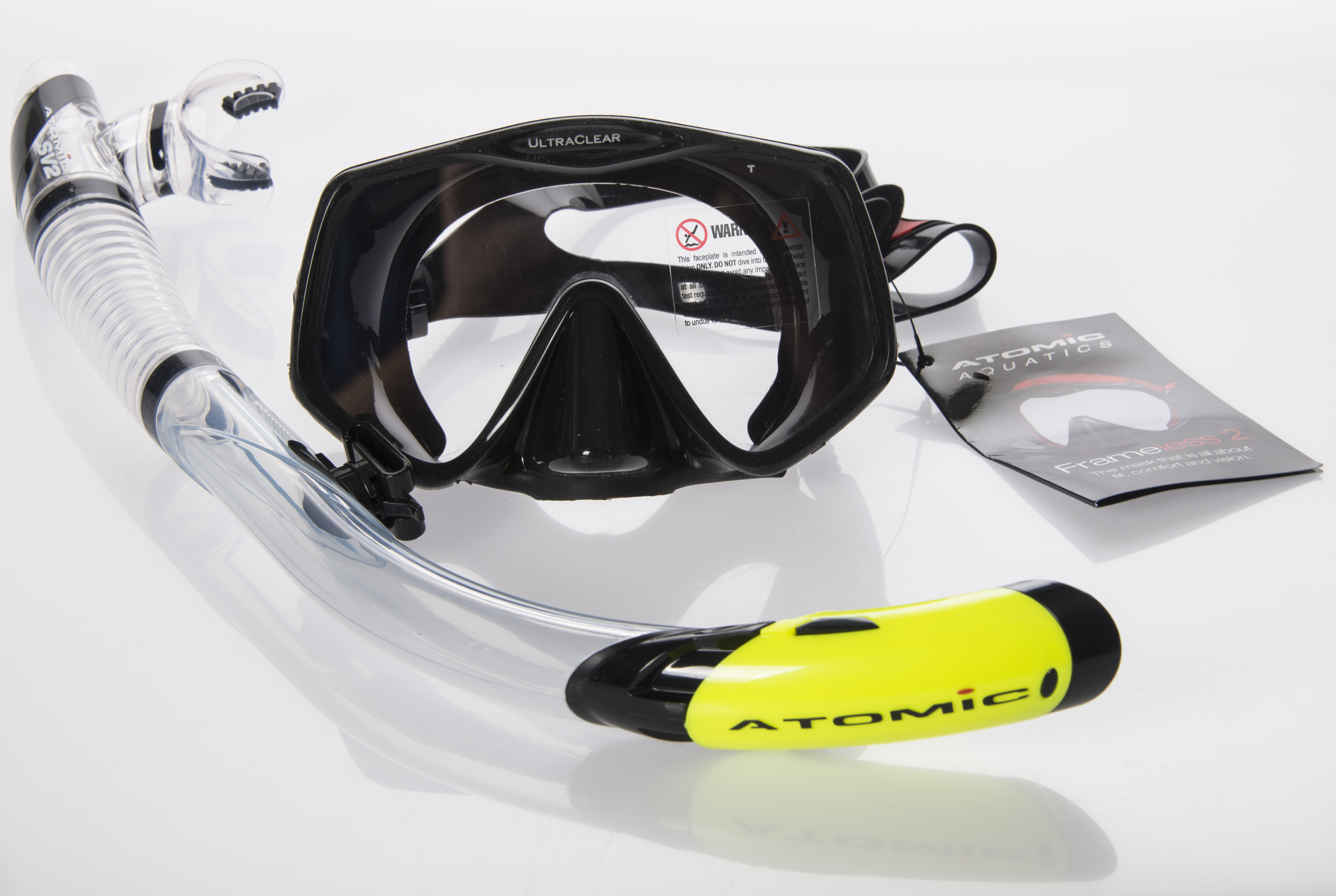 Atomic Aquatics SV Serie Schnorchel